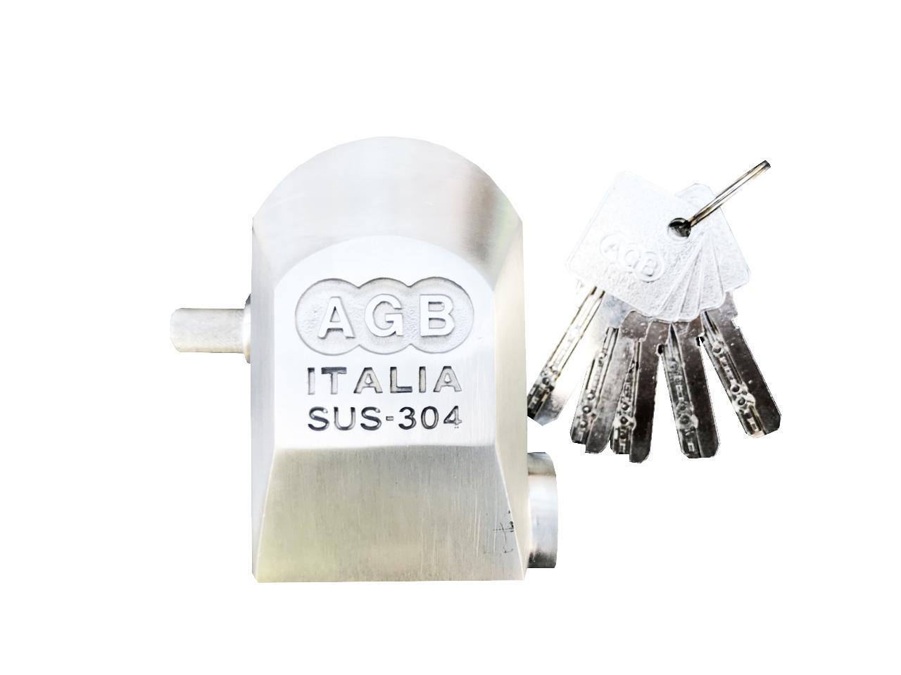 KHÓA CHỐNG CẮT CAO CẤP INOX SUS 304 AGB