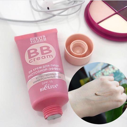 Hình ảnh Kem trang điểm siêu mịn BB Cream Belita 30ml (Nga)