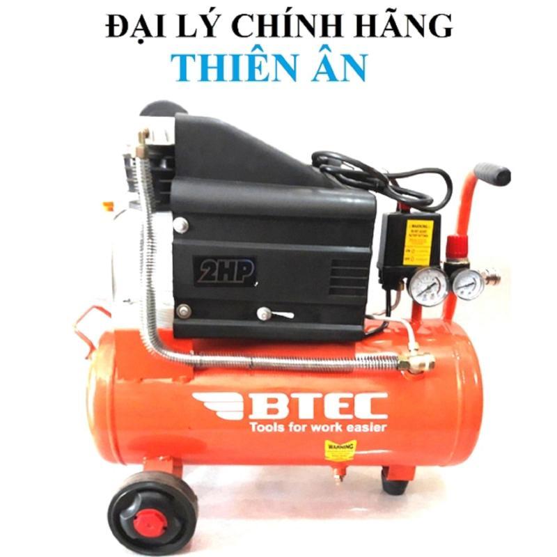 Máy nén khí, máy bơm hơi BTEC 24 lít (có dầu)