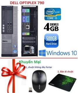 Thùng Dell optiplex 790 ( Core i5 4GB 500GB ) - Tặng USB Wifi , Bàn di chuột - Bảo hành 02 Năm thumbnail