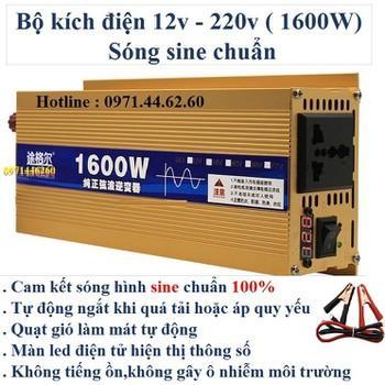 Bộ kích điện sine chuẩn 1600W