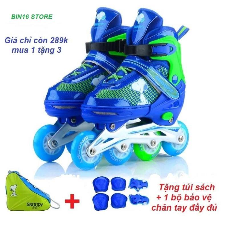 Phân phối giầy trượt patin phát sáng siêu đẹp,,, tặng full bộ bảo hiểm + tặng thêm 1 túi xách giầy tiện lợi
