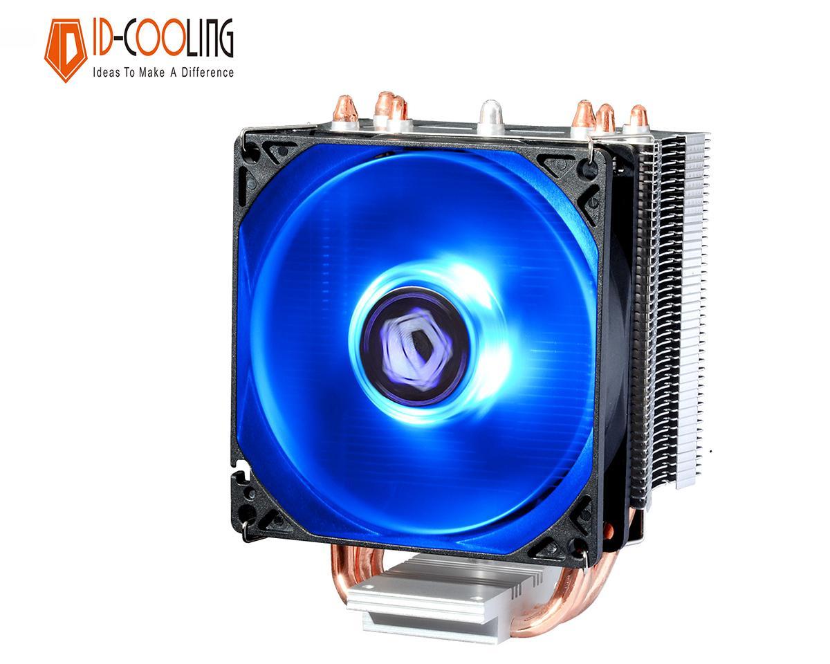 Quạt tản nhiệt cpu ID-Cooling SE-913X - Hiệu năng mạnh mẽ, LED xanh, PWM