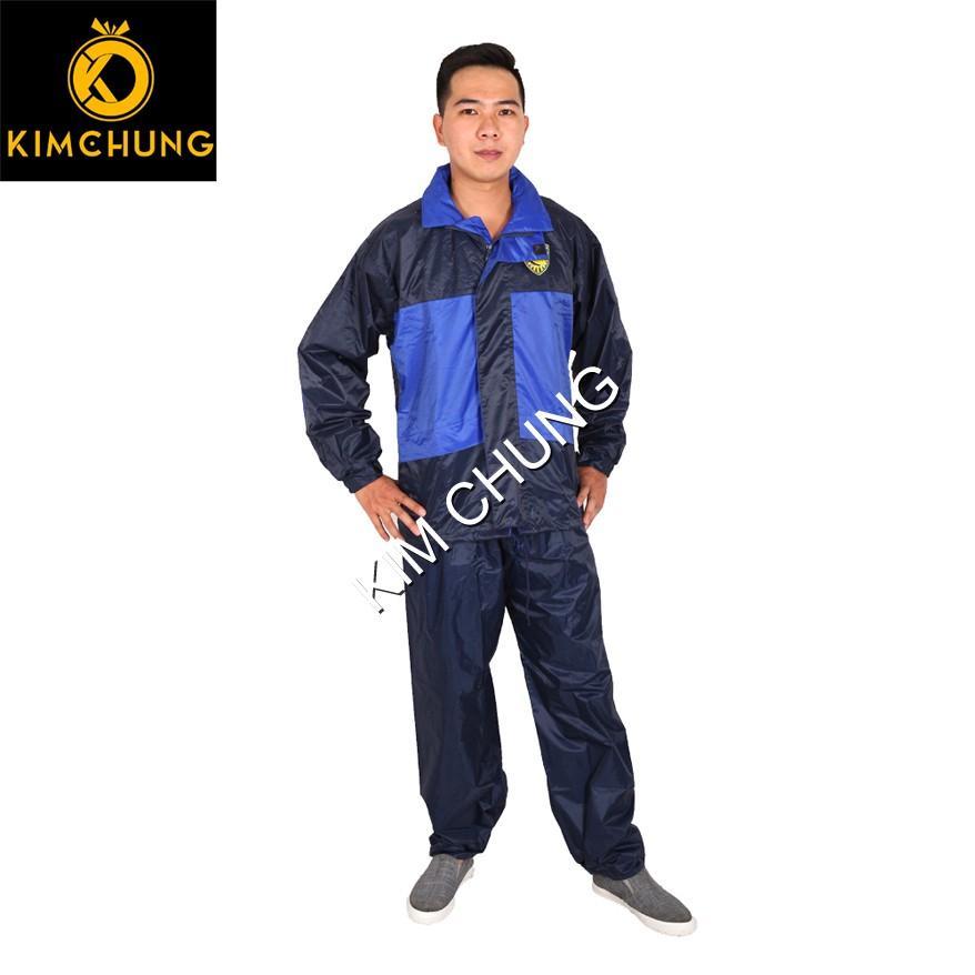 Áo mưa bộ 2 lớp, áo mưa bộ vải dù đài loan cao cấp, đi mưa và chống lạnh (bigsize)
