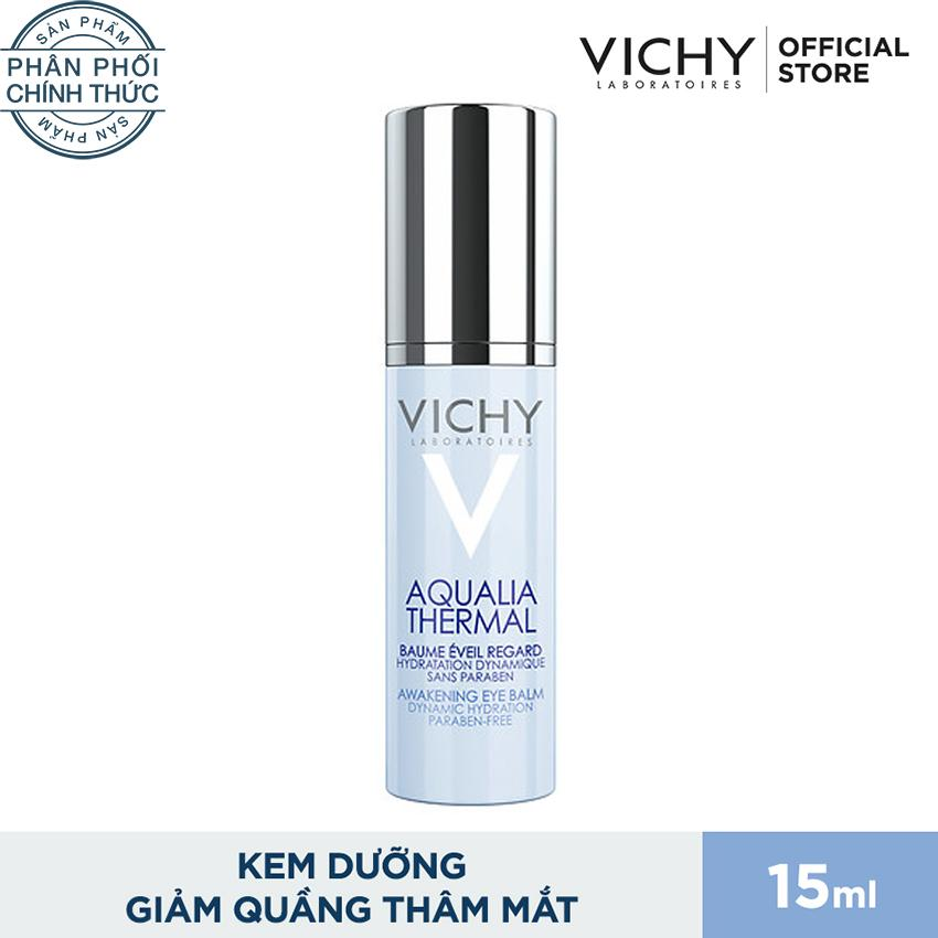 Kem dưỡng ẩm giảm quầng thâm bọng mắt Vichy Aqualia 15ml