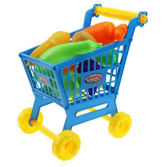 Hình ảnh Bộ đồ chơi Xe Đẩy Siêu Thi + TẶNG 12 chi tiết các đồ ăn cho bé vui chơi