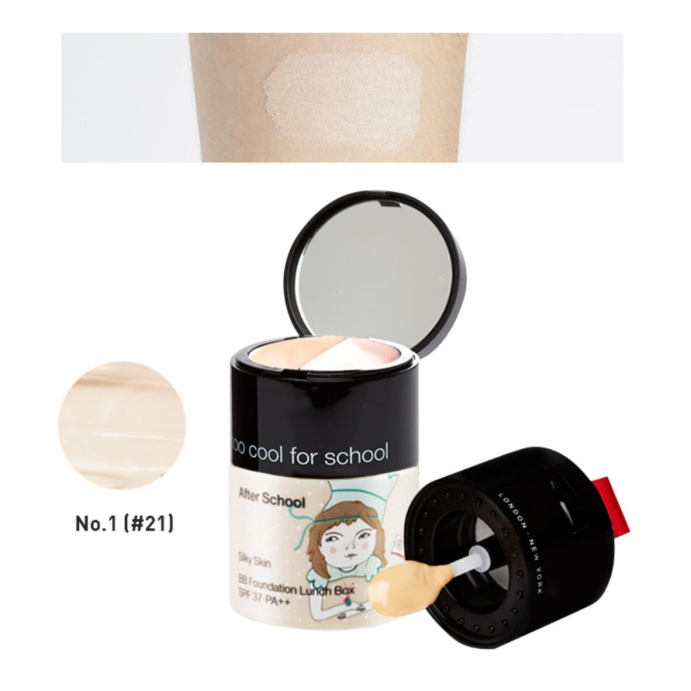 Image result for Too Cool For School After School BB Foundation Lunch Box 1 Matte Skin