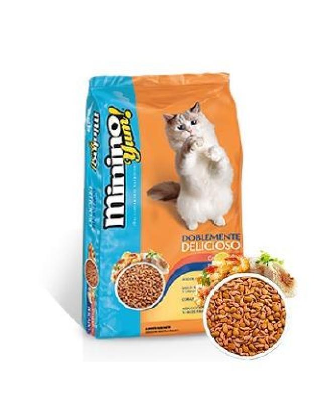 HCM-Minino Yum ( BLISK mới ) - (Bao 7kg & 1,5kg & 350gr) Thức ăn viên cao cấp cho mèo mọi lứa tuổi - ( 203) t-HP10373TC