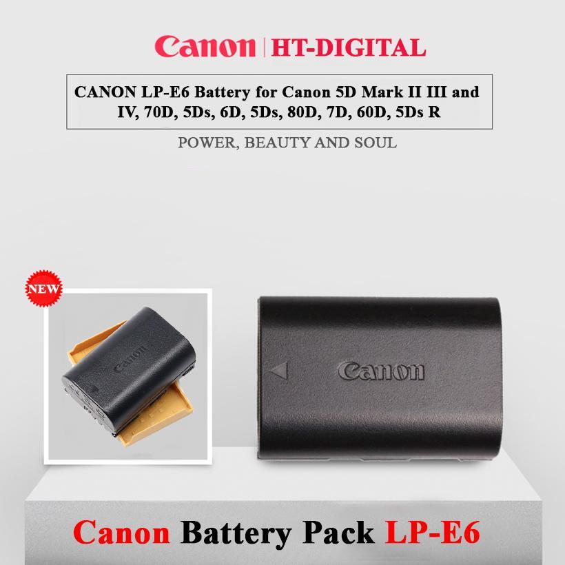 Mã Giảm Giá Pin Canon LP-E6 Cho Canon 60D, 70D, 6D, 7D, 5D MARK II, 5D MARK III, 7D II