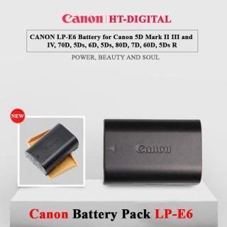 Pin Canon LP-E6 Cho Canon 60D, 70D, 6D, 7D, 5D MARK II, 5D MARK III, 7D II thumbnail