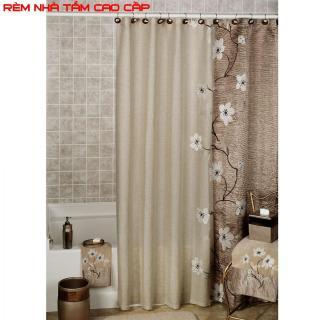 Cách may rèm cửa sổ đẹp, Rèm mành, Vải rèm - Rèm nhà tắm chống nước loại 1, kín đáo và sang trọng - Mã BH 88 thumbnail