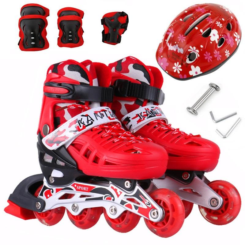Giày trượt Patin trẻ em, giúp bé phát triển thể chất toàn diện-Sản phẩm bán chạy top 1 năm 2018-Hàng Chất Lượng Giá Cạnh Tranh Giảm đến 50% + Tặng mũ và đồ bảo hộ