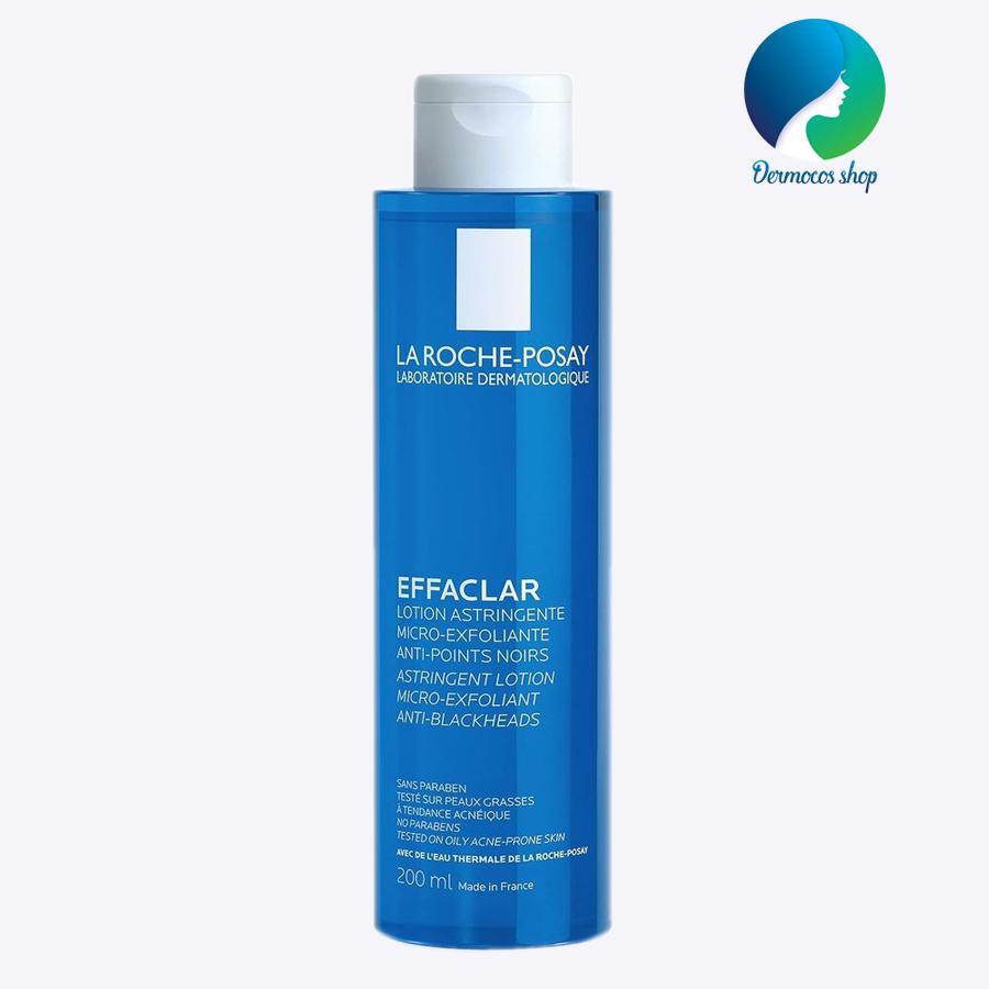 Nước hoa hồng se khít lỗ chân lông dành cho da dầu mụn La Roche Posay Effaclar Lotion Micro-Exfoliante 200ml - DMCMP072 nhập khẩu