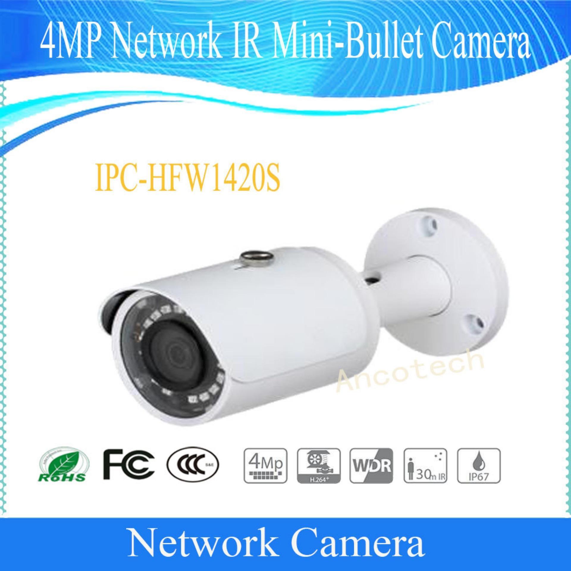 Dh-Ipc-Hfw1420sp Camera Ip (lẮp KhÔng CẦn ĐẦu Ghi) ĐỘ PhÂn GiẢi 4mp - GiÁm SÁt An Ninh - HỒng NgoẠi ThÔng Minh - HiỆu Dahua By SÀi GÒn GiÁ SỈ.