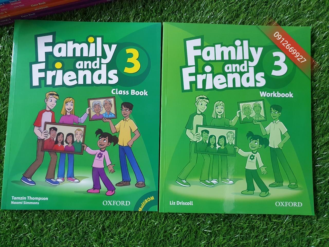 Mua Sách Family and Friends 3 (classbook và workbook)