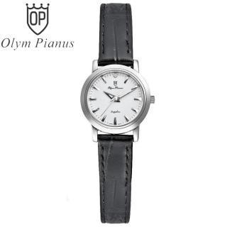 Đồng hồ nữ mặt kính sapphire Olym Pianus OP130-06LS-GL trắng thumbnail