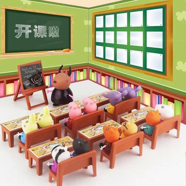 Hình ảnh Bộ đồ chơi lớp học Peppa Pig hàng hot