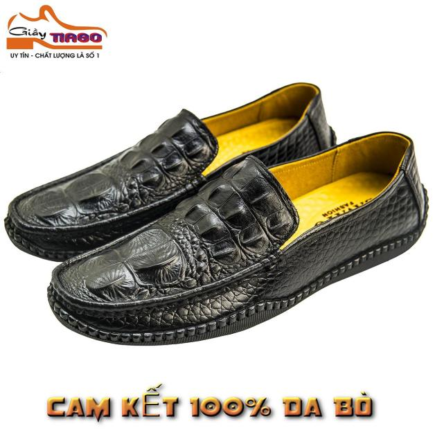 giày mọi nam da bò thật giá rẻ