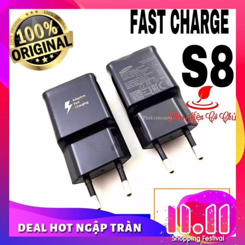 Củ Sạc Nhanh SamSung S8/ S8+ Bóc Máy (Đen)- Fast Charge