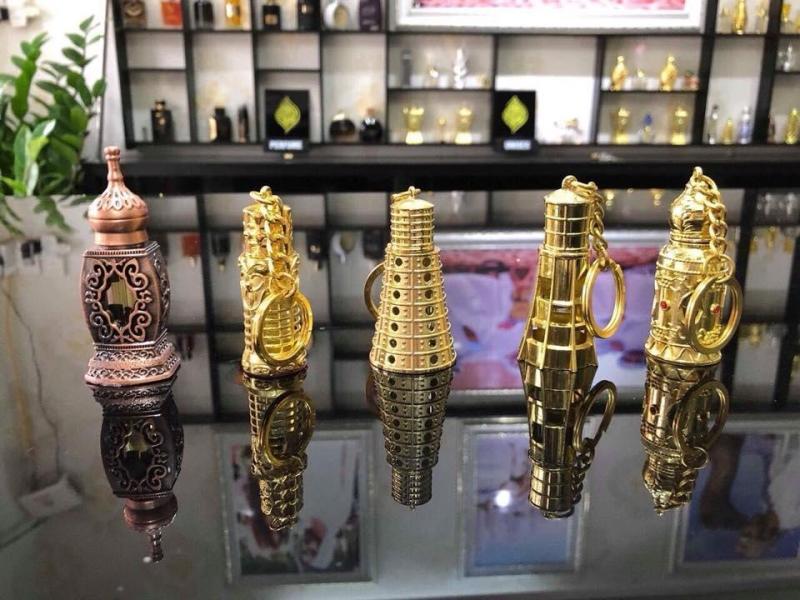 TINH DẦU NƯỚC HOA DUBAI MẪU MÓC KHÓA nhập khẩu