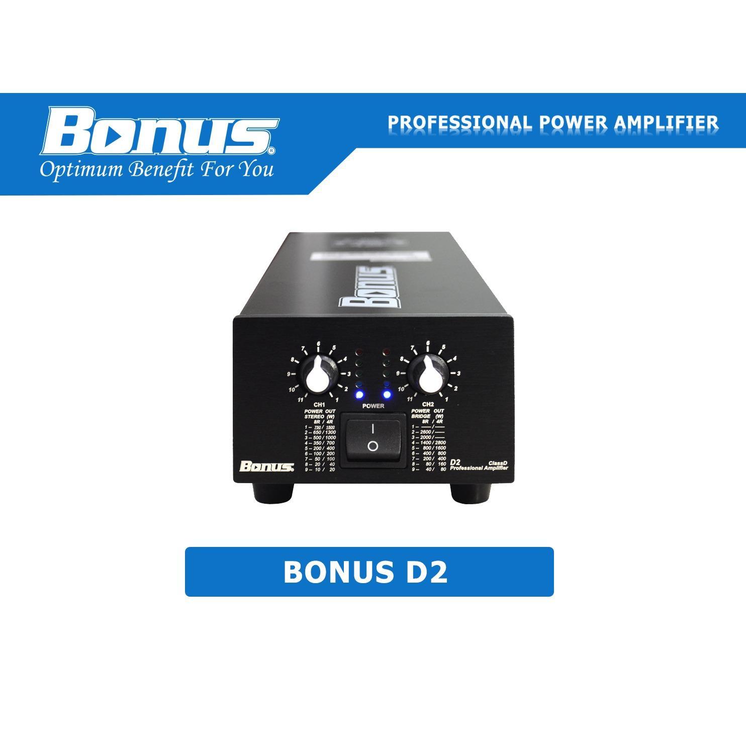 Mua Cục Đẩy Power Amplifier Bonus Audio D2 Trong Hồ Chí Minh