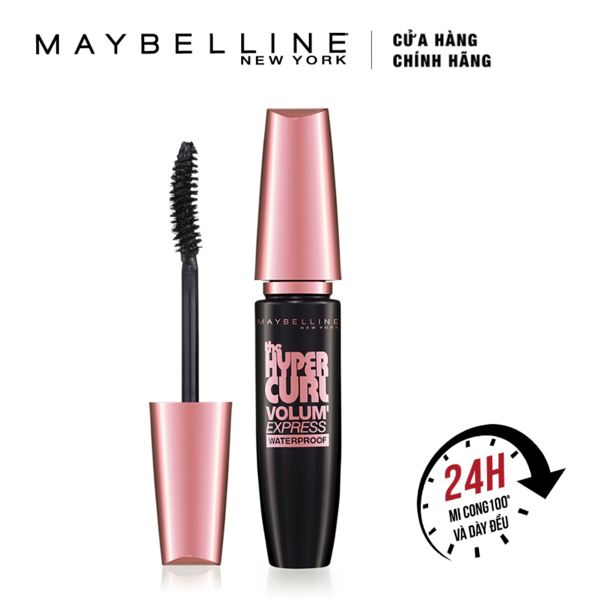 Hình ảnh Mascara Maybelline làm dài và cong mi Hyper Curl 9.2ml