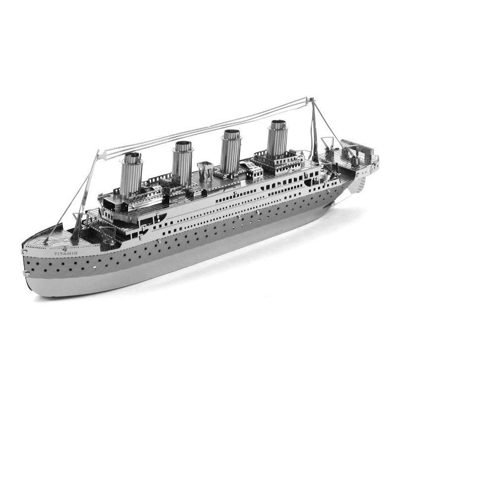Hình ảnh XEM VIDEO - Đồ chơi lắp ghép mô hình 3D bằng thép Tàu titanic 19