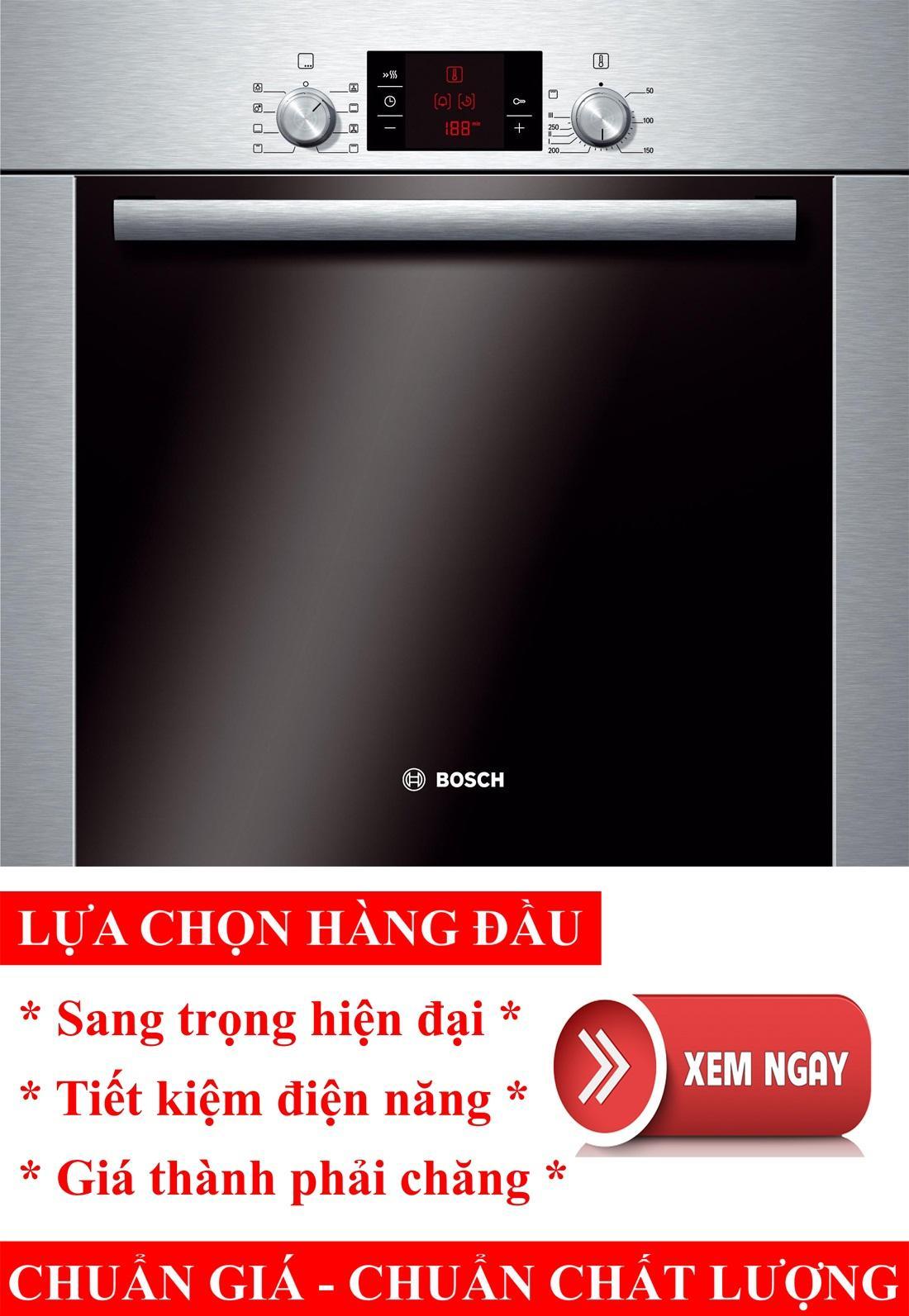 Lò nướng điện đa năng Bosch HBA22B250E, lò nướng điện, lò nướng bánh, lò nướng thủy tinh, lò nướng bánh mì, lò nướng bánh bông lan
