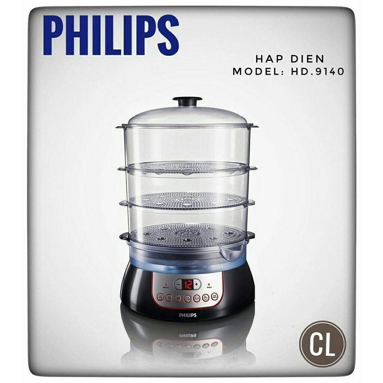 Hình ảnh Nồi hấp điện Philips HD9140 nhập khẩu chính hãng