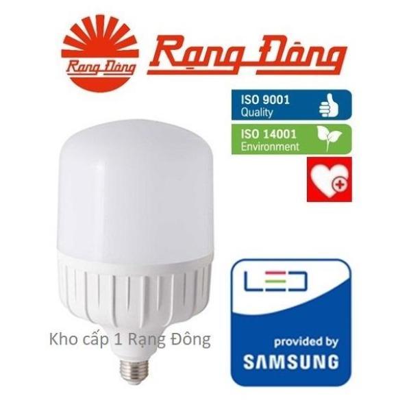 [Lấy mã giảm thêm 30%]Bóng đèn LED bulb trụ 40W Rạng Đông - SAMSUNG ChipLED Mới
