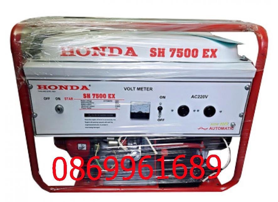Máy phát điện Honda SH 7500 6kw; xăng; đề