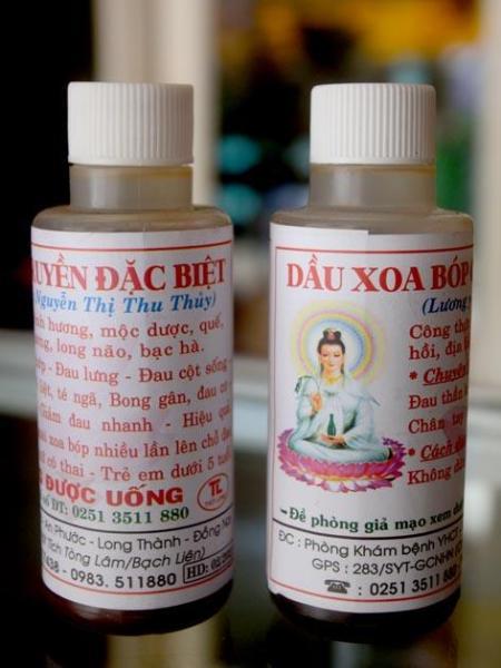 Dầu xoa bóp chùa Phật Tích Tòng Lâm giá rẻ