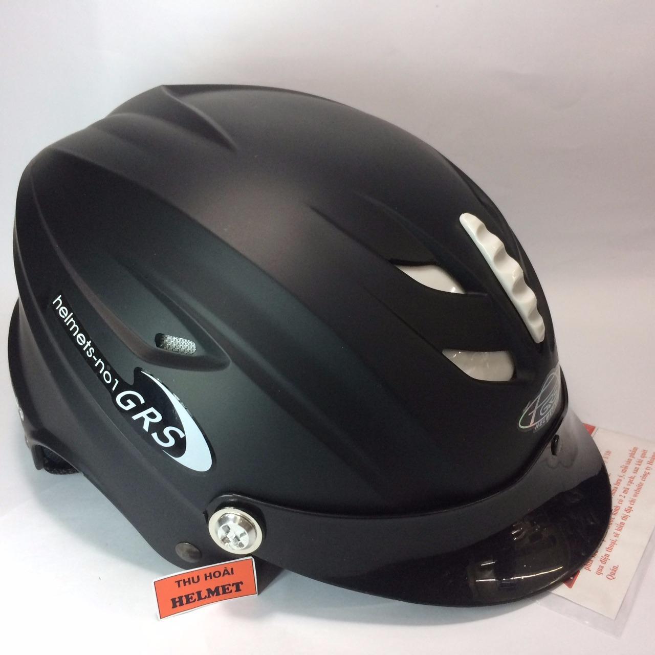 Mua Mũ Bảo Hiẻm Grs A760 Đen Nhám Grs Helmet Nguyên