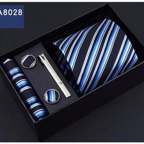 [Lấy mã giảm thêm 30%]Bộ cà vạt nam sang trọng dự tiệc hoặc làm quà tặng H6A