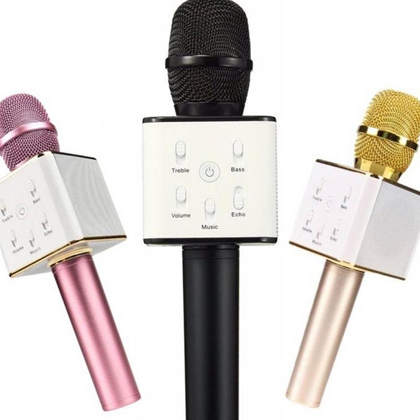 Giá Bán Microphone Khong Day Cao Cấp Chuyen Karaoke Microphone Mini Mix Hat Karaoke Mix Karaoke Q9 Micro Bluetooth Q7 Lv002 Chất Lượng Nhất Lazada Mẫu Mới Nhất 2018 Bảo Hanh 1 Đổi 1 Bởi I Tech