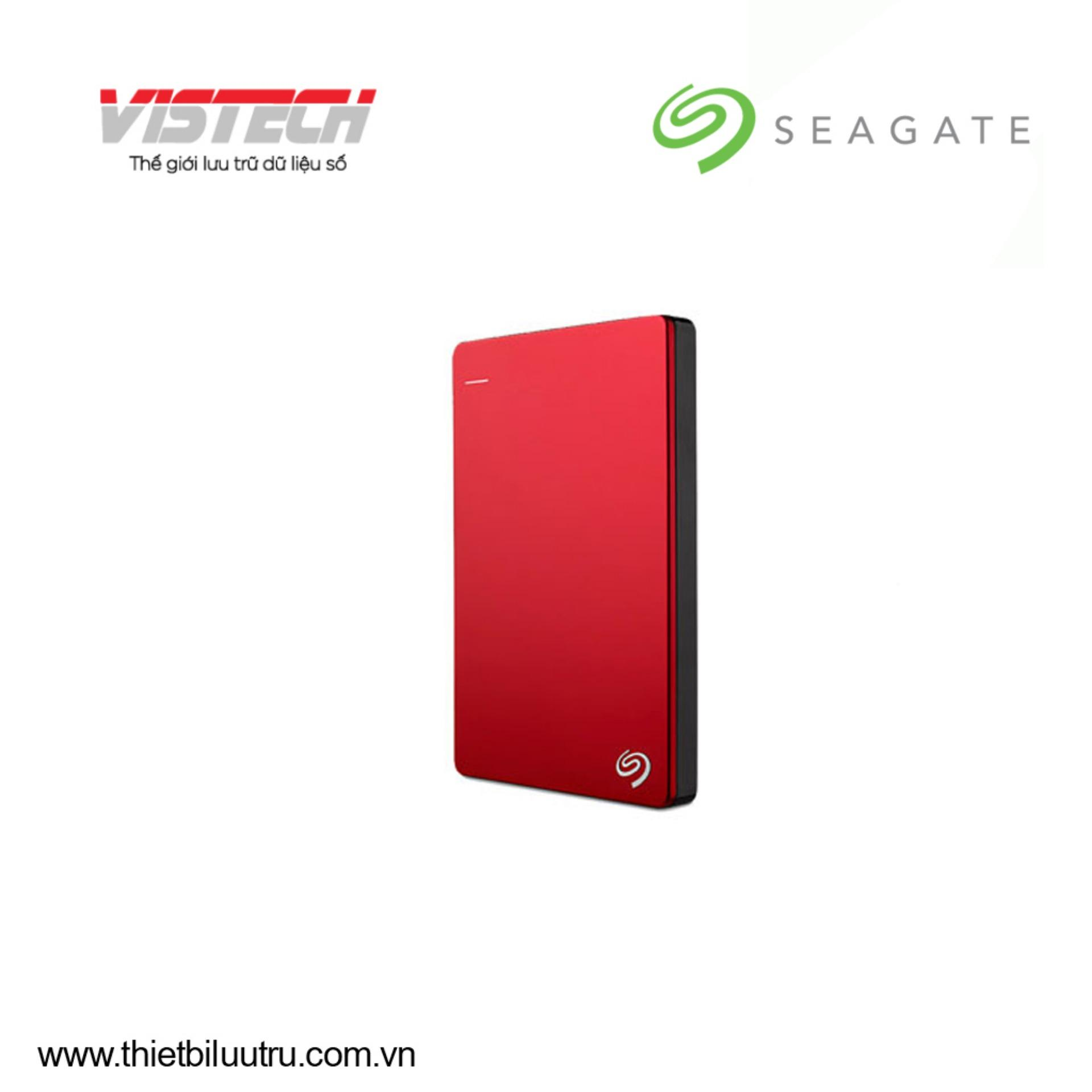 Hình ảnh Ổ cứng di động Seagate Backup Plus Slim 1TB (Đỏ)