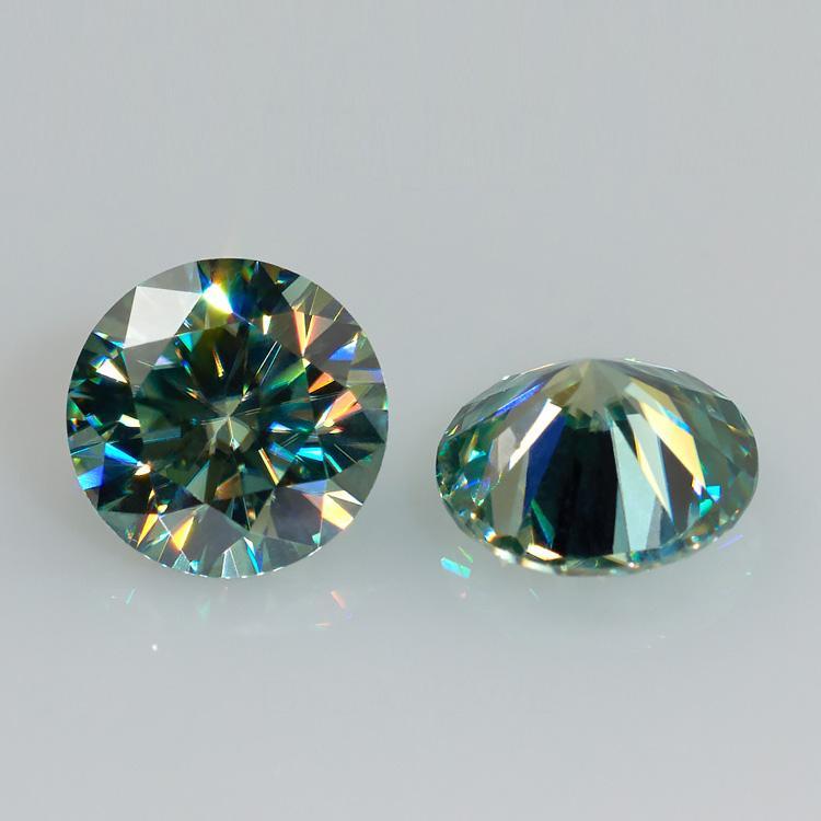 Green Moissanite hiệu ứng bút thử kim cương  8ly1