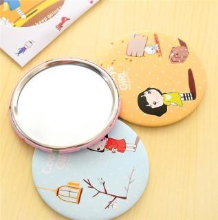 Combo 3 Gương cầm tay mini phong cách Hàn Quốc (Hình ngẫu nhiên) thumbnail