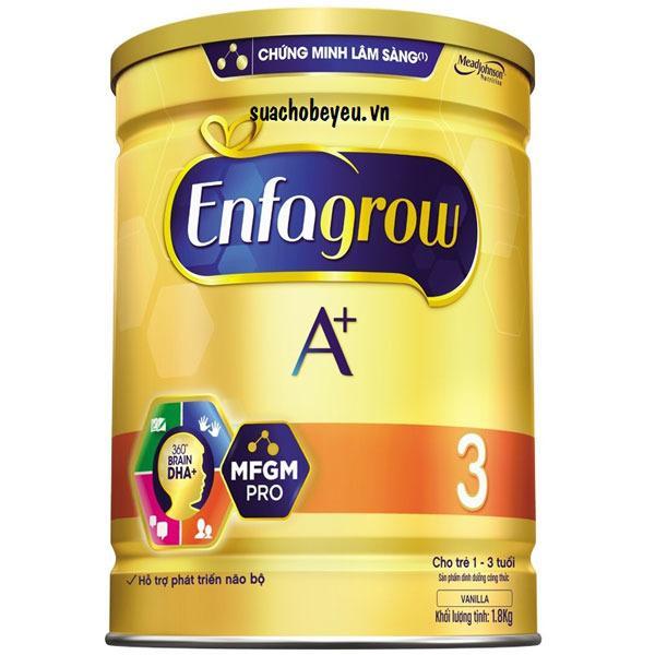 Mua Sữa Bột Enfagrow A 3 360 Brain Dha Va Mfgm Pro 400G 1 3 Tuổi Rẻ