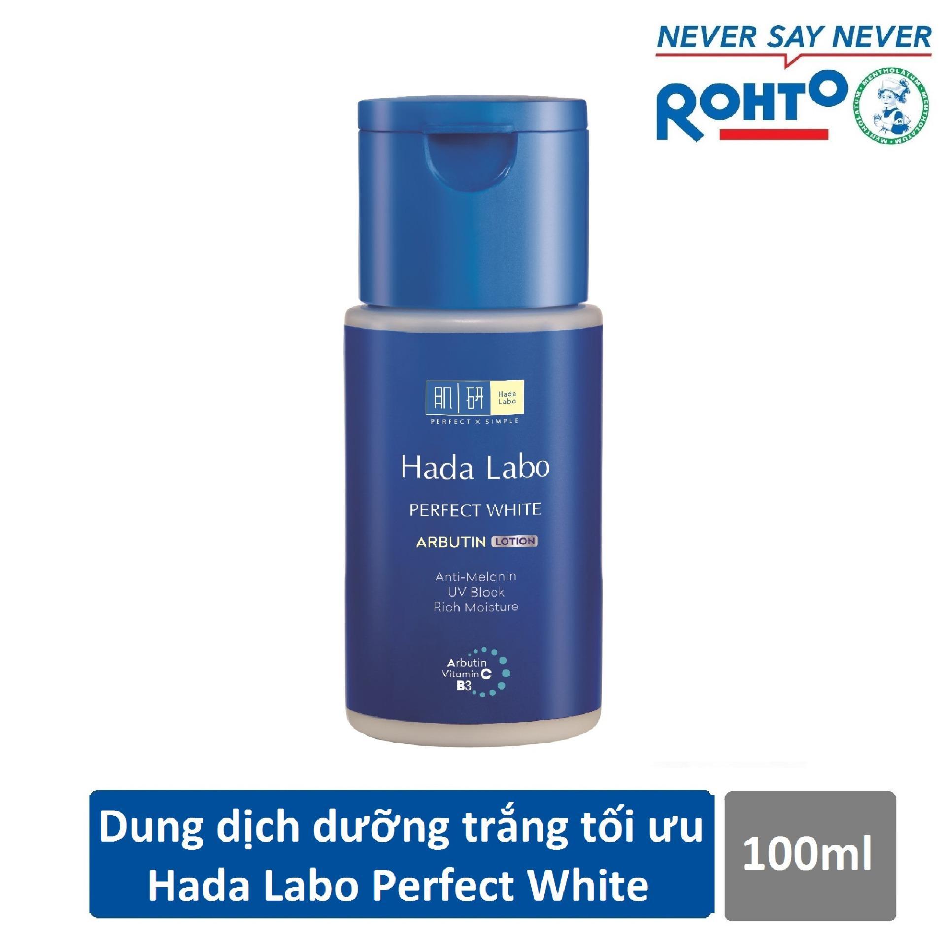 Giá Bán Dung Dịch Dưỡng Trắng Da Tối Ưu Hada Labo Perfect White Lotion 100Ml Hada Labo Tốt Nhất