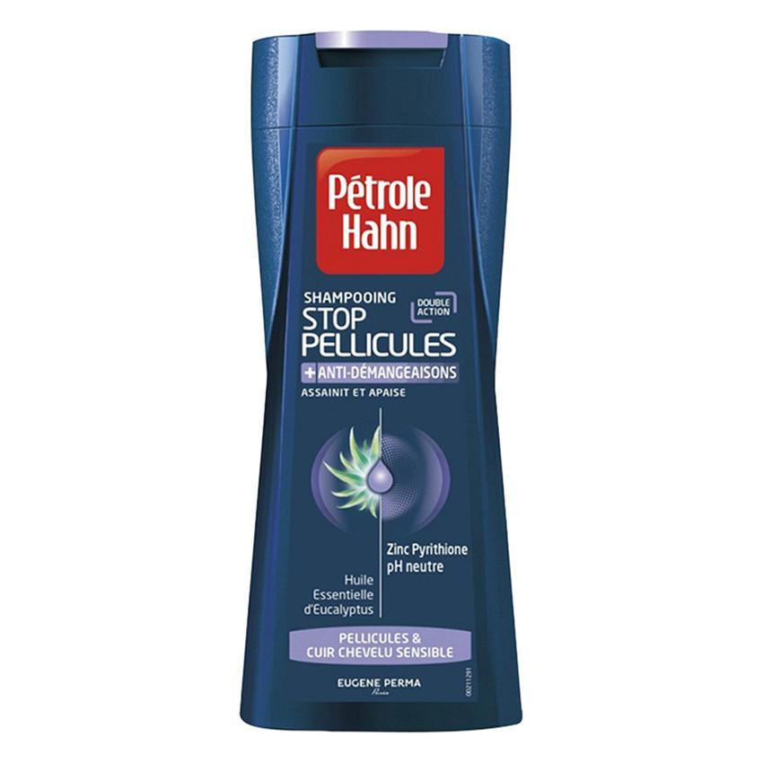 Dầu Gội Ngăn Gàu, Chống Ngứa Petrole Hahn Shampooing Stop Pellicules + Anti-Demangeaisons (250ml)