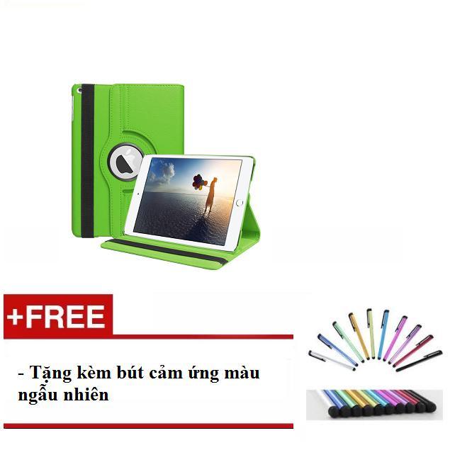 Bán Bao Da Xoay 360 Độ Cho Ipad Mini 123 Ipad Mini 4 Ipad Air 2 Ipad 234 Ipad Air Ipad New 2017 Tặng Kem But Cảm Ứng Hồ Chí Minh Rẻ