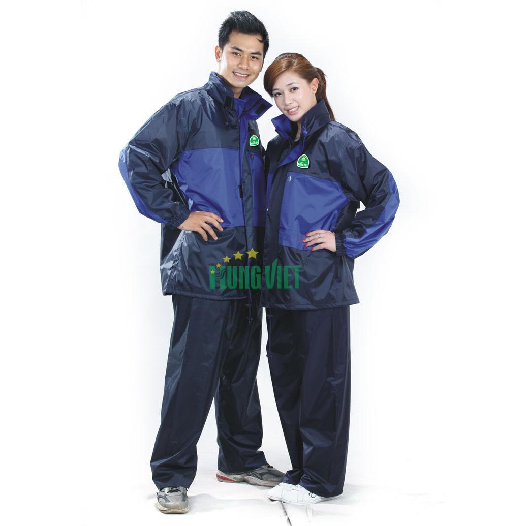 Bộ quần áo mưa 2 lớp 3 công dụng Hưng Việt Nhật Bản