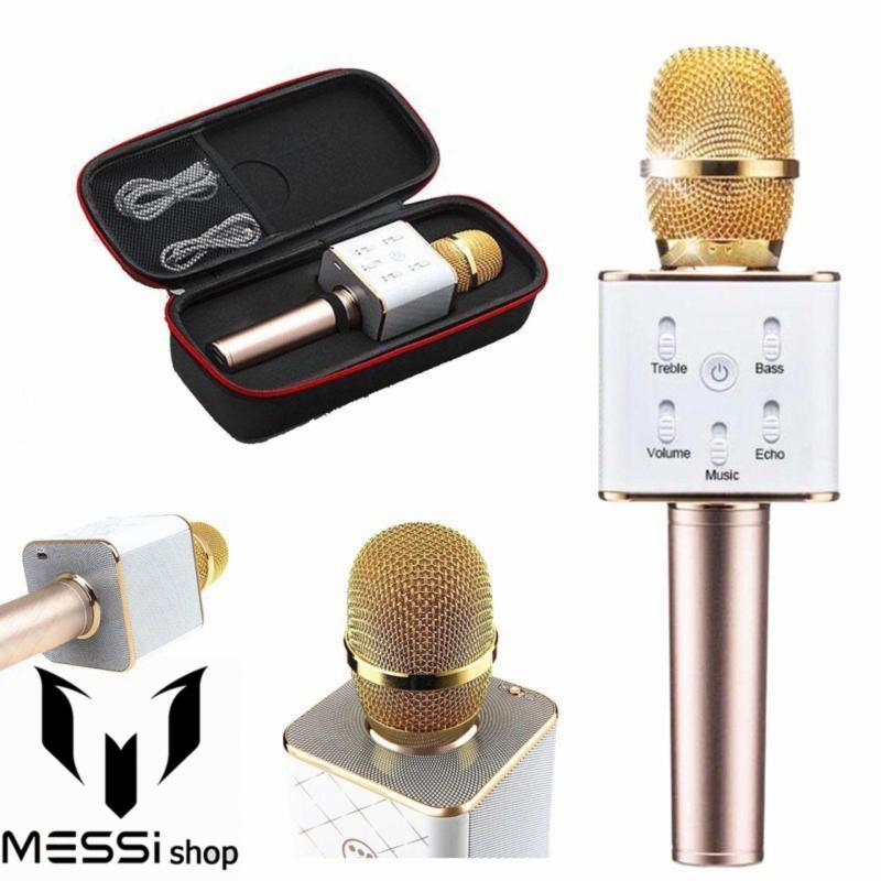 Micro co loa karaoke-Mic kèm loa kết hợp-Mic karaoke Q7 cao cấp 3 trong 1 thế hệ mới năm 2019.Được mọi người lựa chọn nhiều trong năm nay-giảm tới 50%