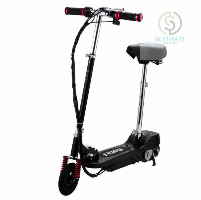 Phân phối Xe scooter điện E-Scooter 15km/h, tải trọng 80kg, 120w (Black)