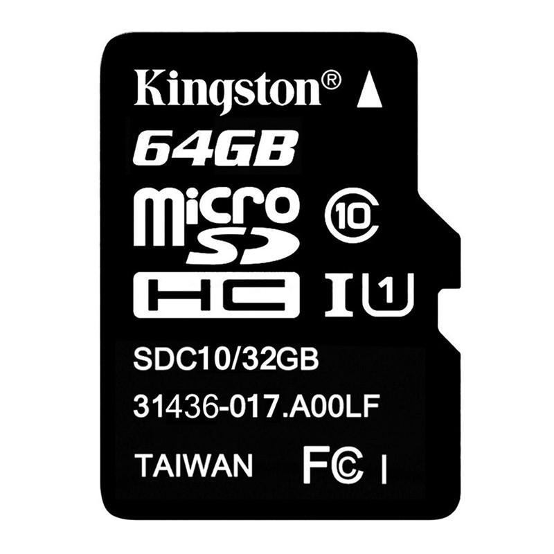 Thẻ nhớ MicroSDHC Kingston Class 10 64GB