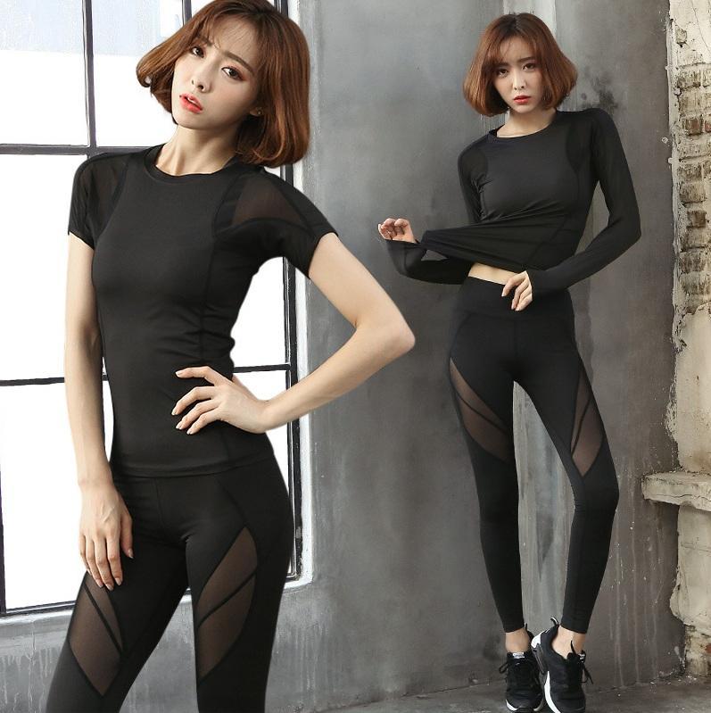 Hình ảnh bộ đồ tập gym, yoga nữ cao cấp hàng nhập khẩu