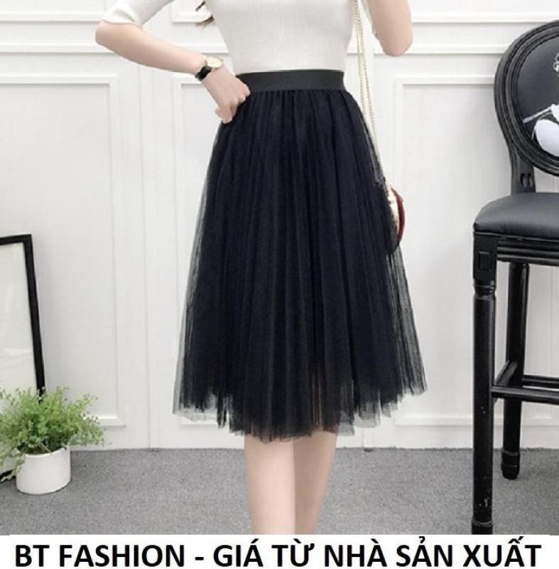 Chân Váy Xòe Lưới  Duyên Dáng Thời Trang Hàn Quốc - BT Fashion (VA03)
