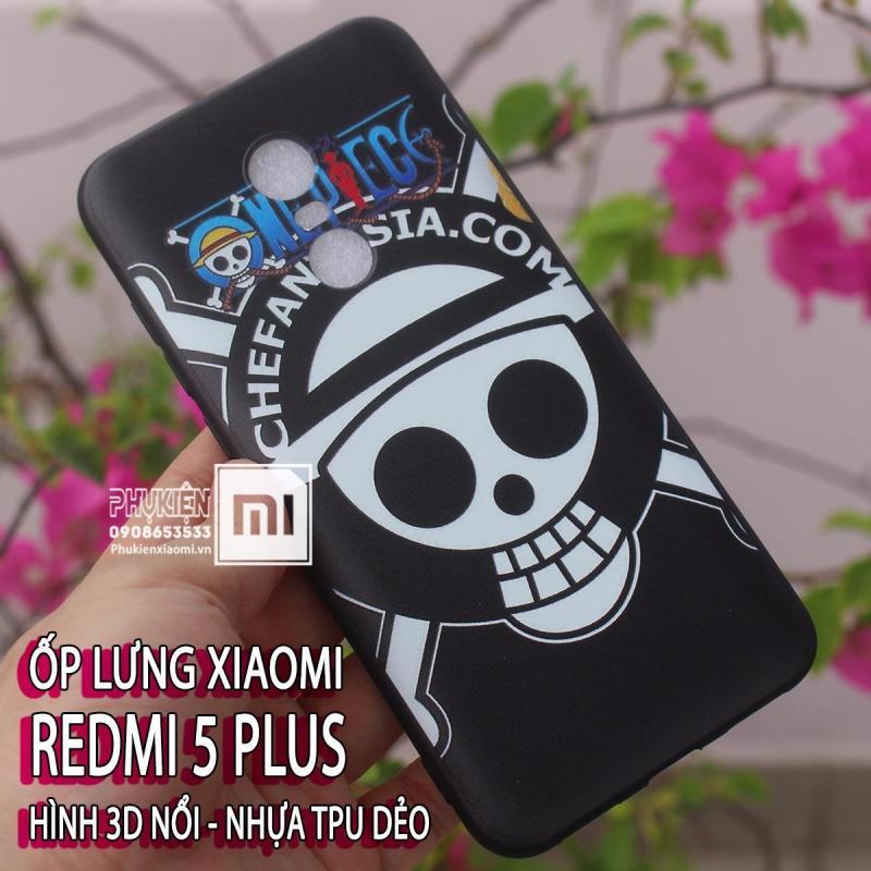 Giá [19 mẫu] Ốp lưng dùng cho máy Xiaomi Redmi 5 Plus ,hình 3d nổi TPU dẻo