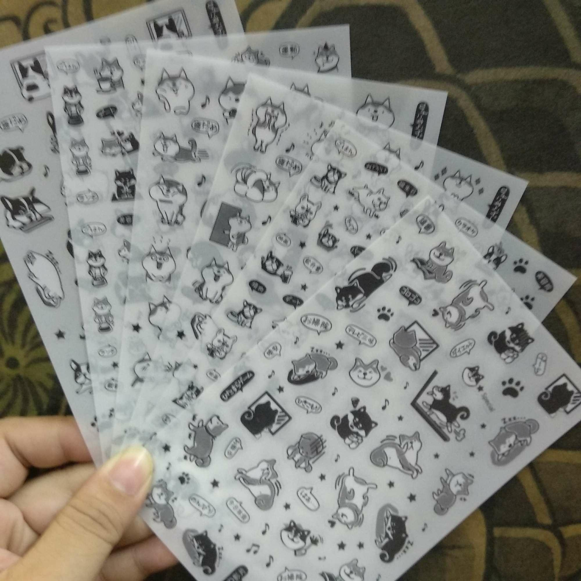 Mua Bộ 6 tấm hình dán sticker